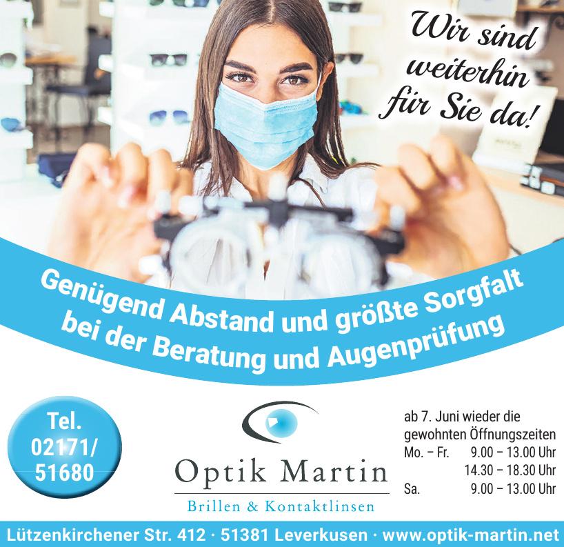 Augenoptik Martin