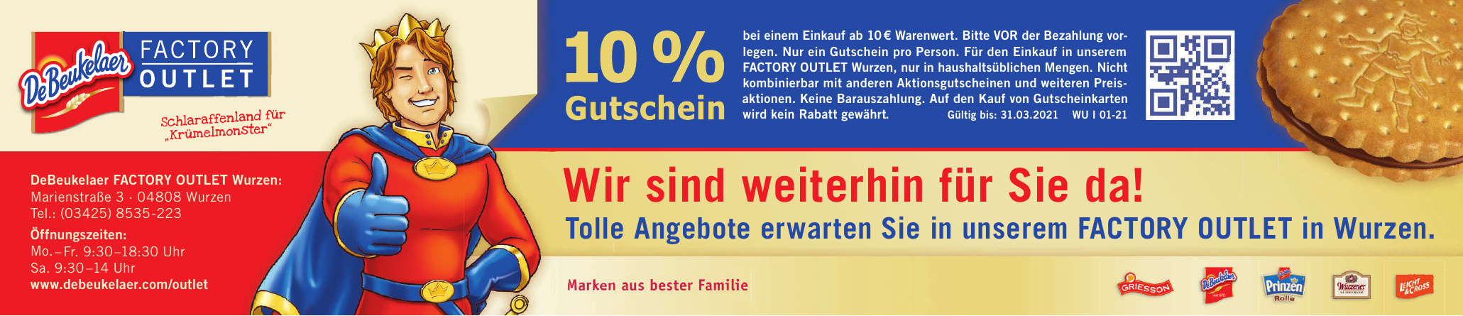 DeBeukelaer Factory Outlet