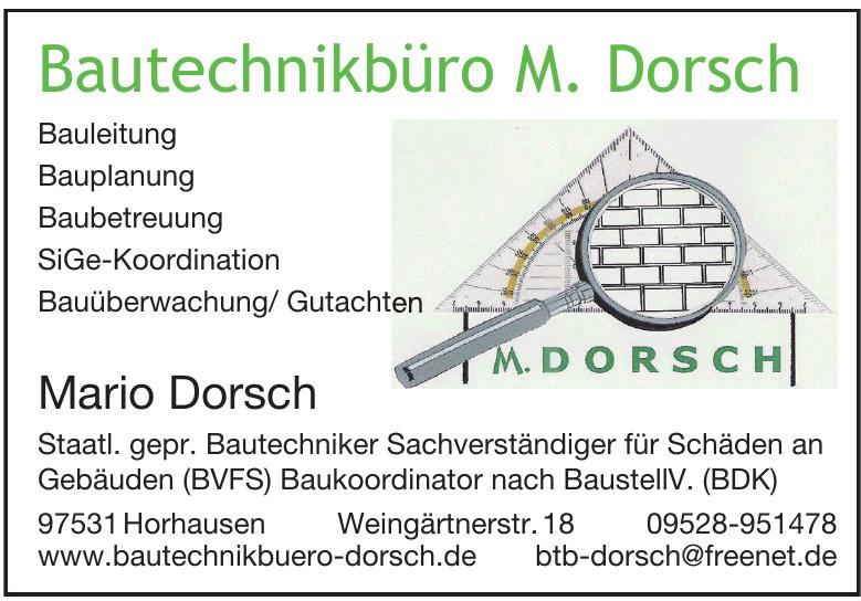 Bautechnikbüro M. Dorsch