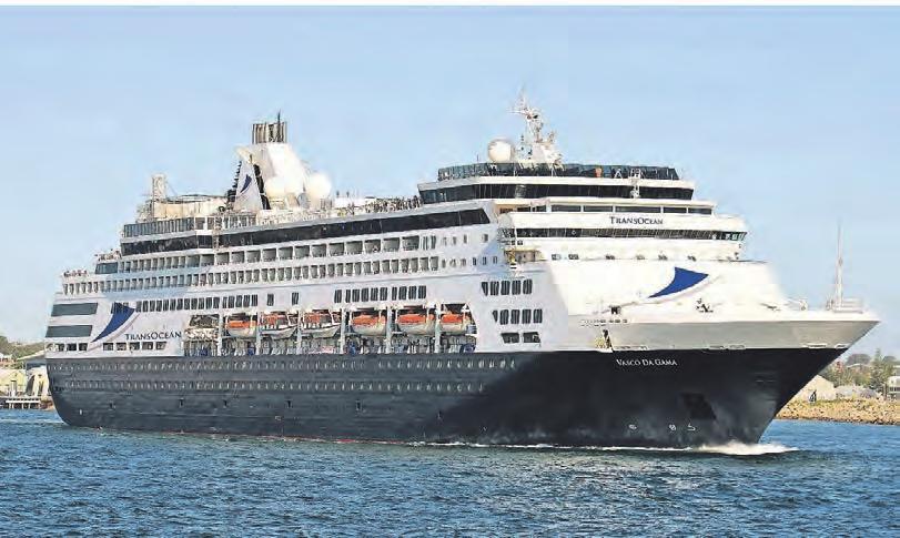 Neuzugang der Flotte: Die Vasco da Gama fährt ab diesem Sommer als zweites Schiff für TransOcean Kreuzfahrten.