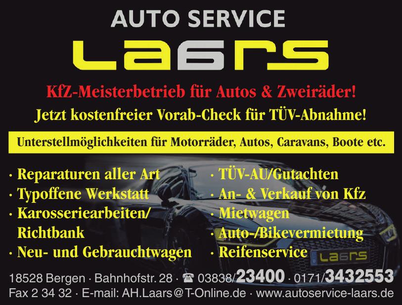 Auto Service by Laars LTD & CO. KG