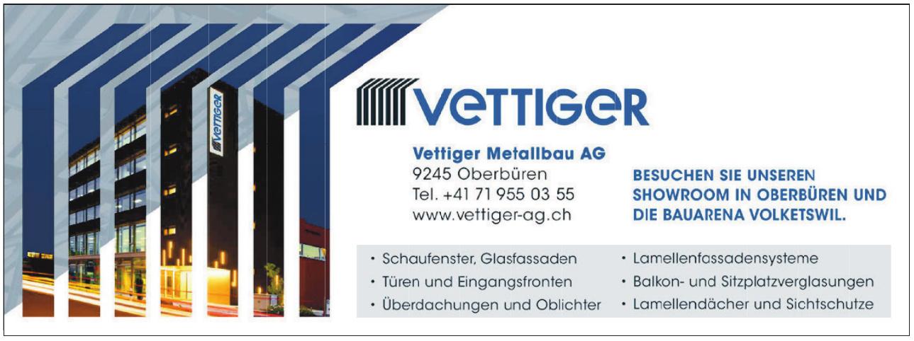 Vettiger Metallbau AG
