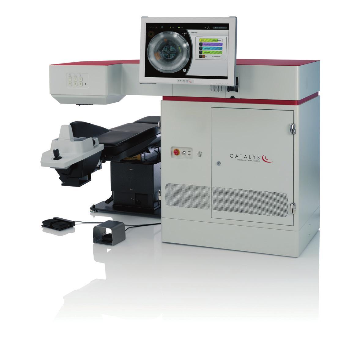 Die Augenklinik Regensburg behandelt den Grauen Star mit dem CATALYS®-Präzisions-Laser-System.