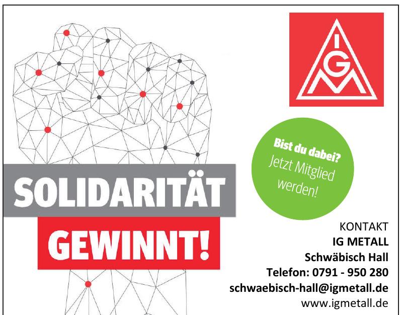 IG Metall Schwäbisch Hall