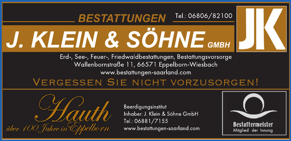 Bestattungen J. Klein & Söhne GmbH