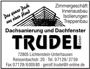 Dachsanierung und Dachfenster Trudel GmbH