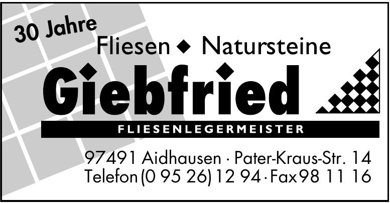 Giebfried Fliesen