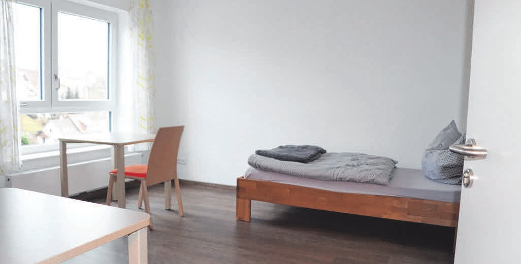 Helle und großzügige Räume haben die Klienten beim Einzug erwartet.