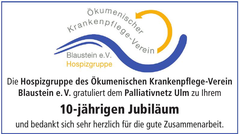 Hospizgruppe des Ökumenischen Krankenpflege-Verein Blaustein e.V.