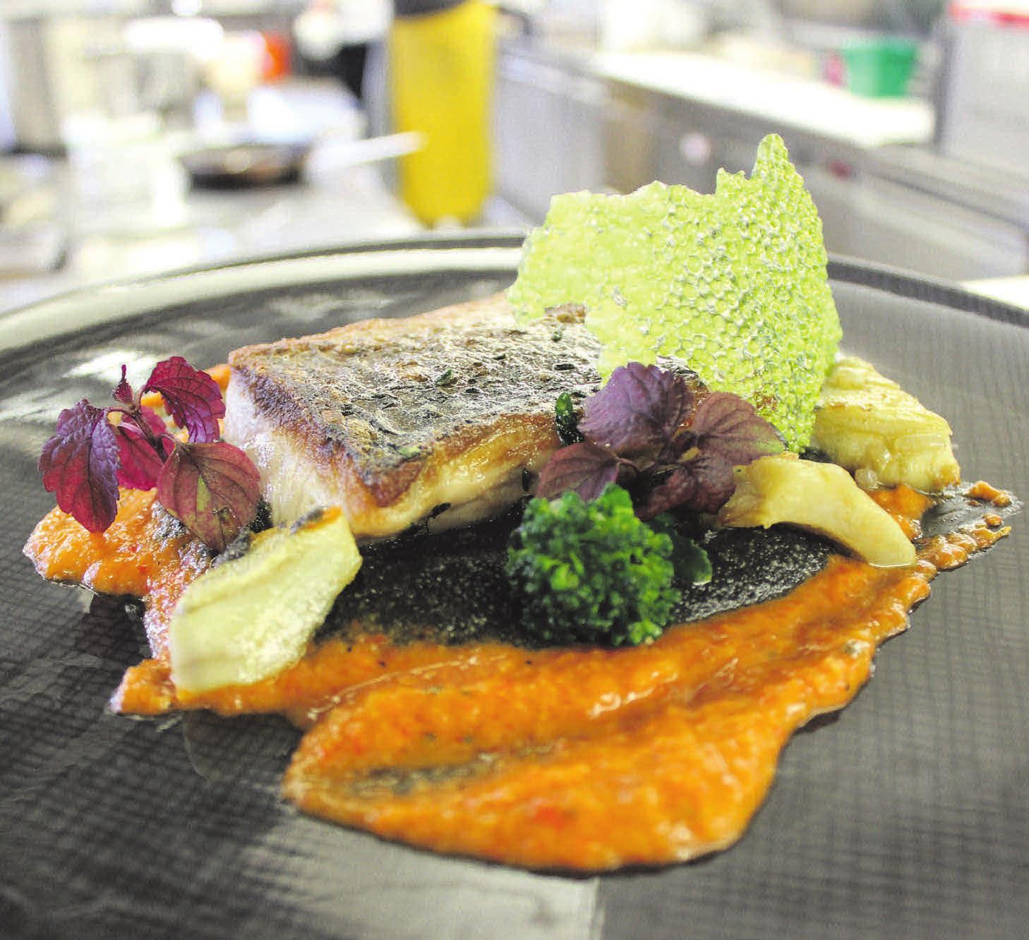 Küchenchef Mike Schulze steht für eine leichte und frische Küche. Foto: Bodensee-Hotel
