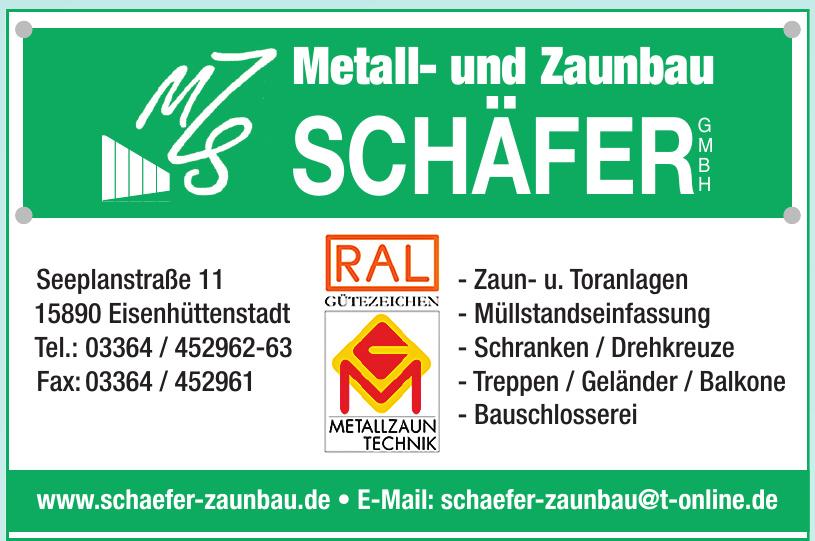 Metall- und Zaunbau Schäfer GmbH