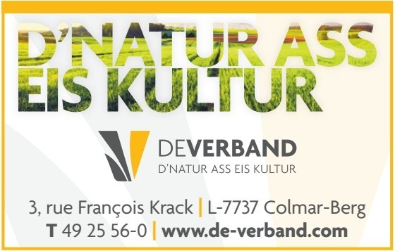 DEVERBAND D'NATUR ASS EIS KULTUR