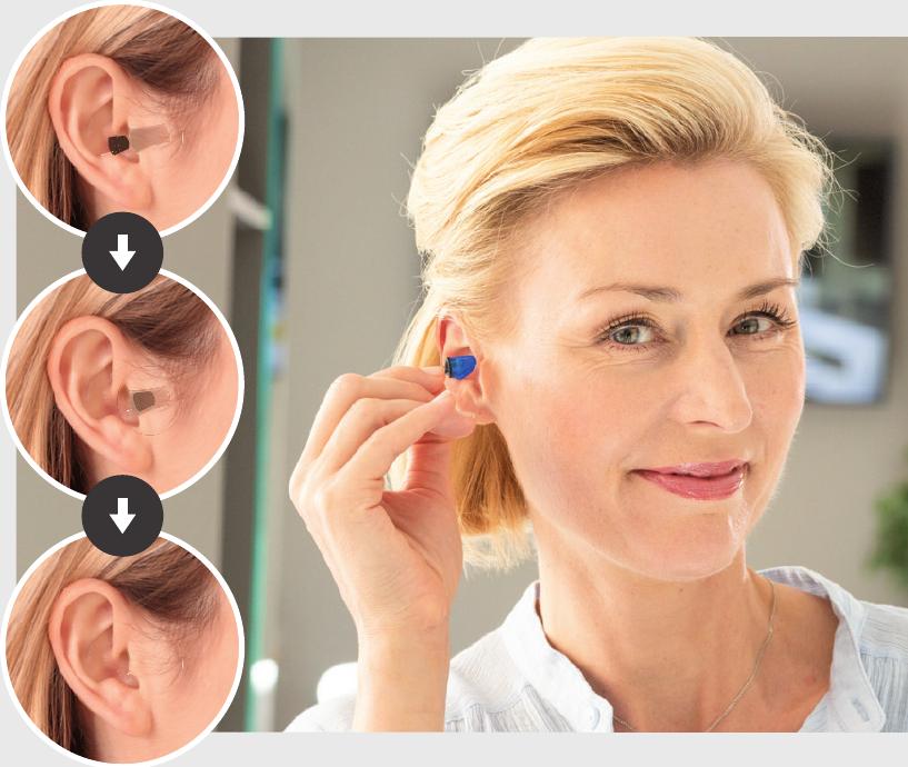 Für andere unsichtbar: InSide-Hörgeräte Hörsysteme, die keiner sieht? Unsere InSides werden für andere unsichtbar im Gehörgang getragen. Jedes Hörproblem ist auffälliger als die kleinen Power-Minis – versprochen!