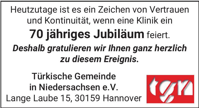 Türkische Gemeinde in Niedersachsen e.V.