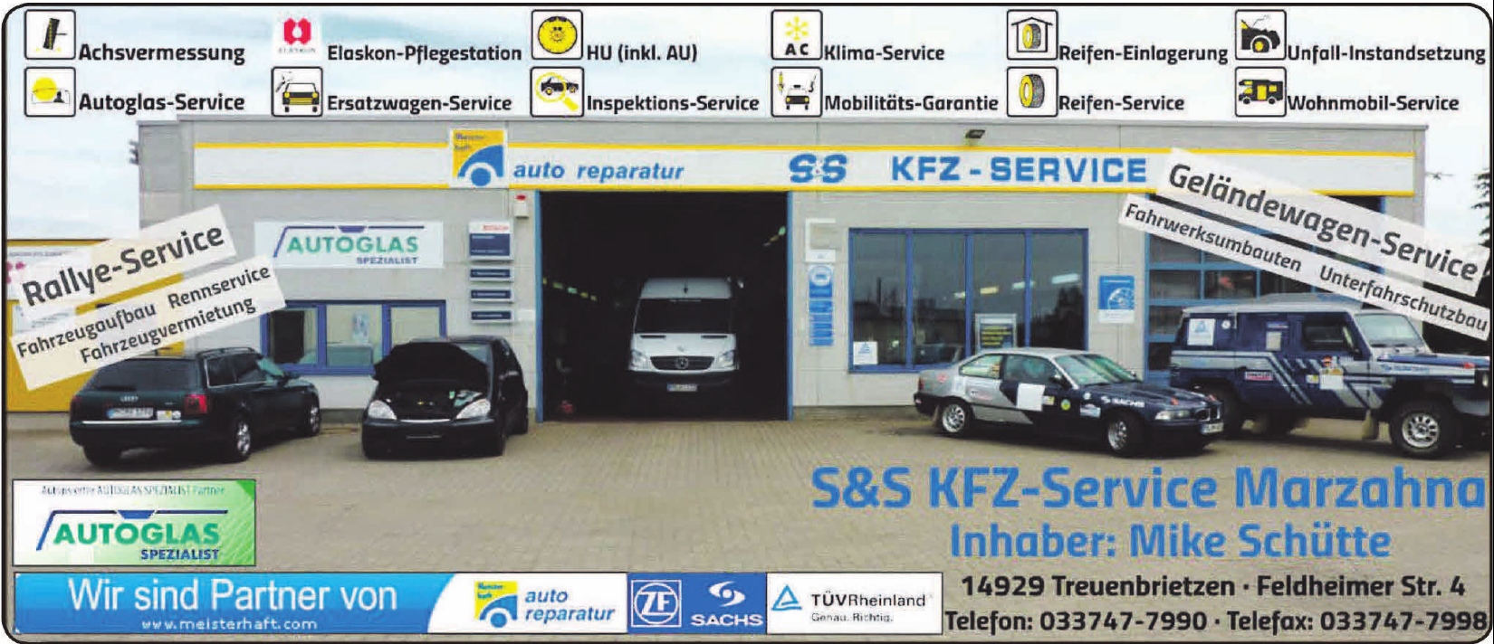 S&S Kfz-Service Marzahna
