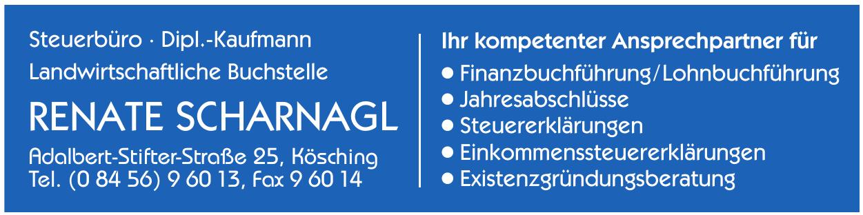Steuerbüro Dipl.-Kaufmann Landwirtschaftliche Buchstelle Renate Scharnagl