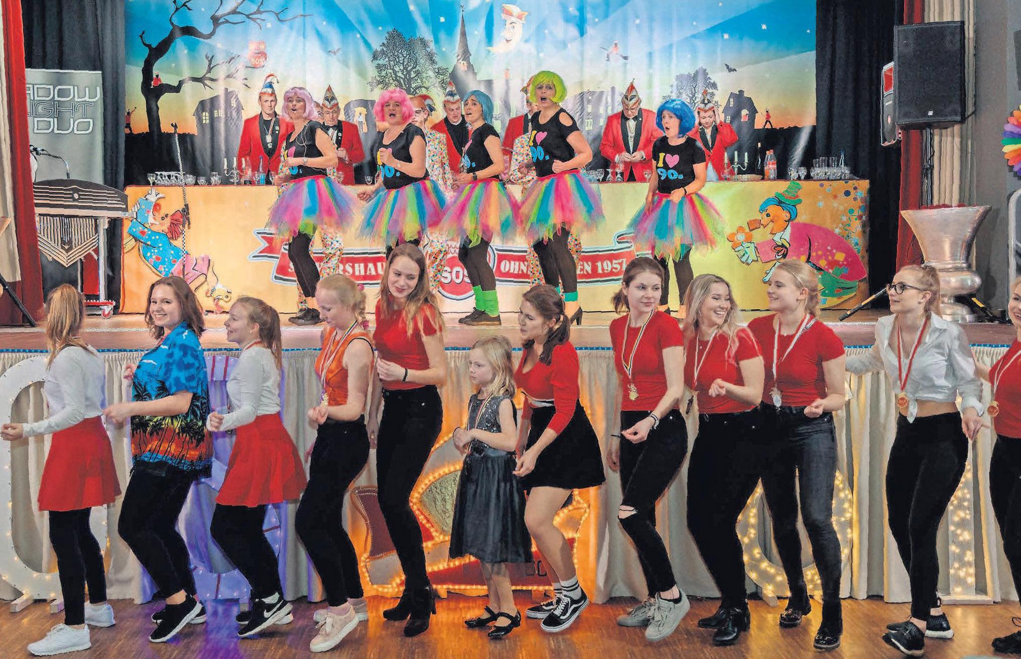Da geht die Party richtig los: Wer Karneval mag, wird die Veranstaltungen der SOS Sievershausen lieben.