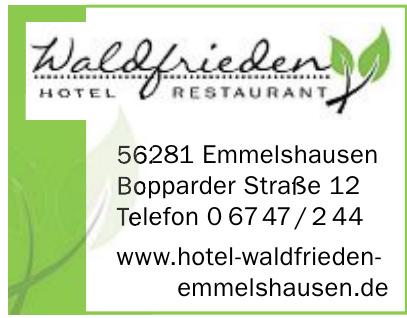 Waldfrieden Hotel-Restaurant