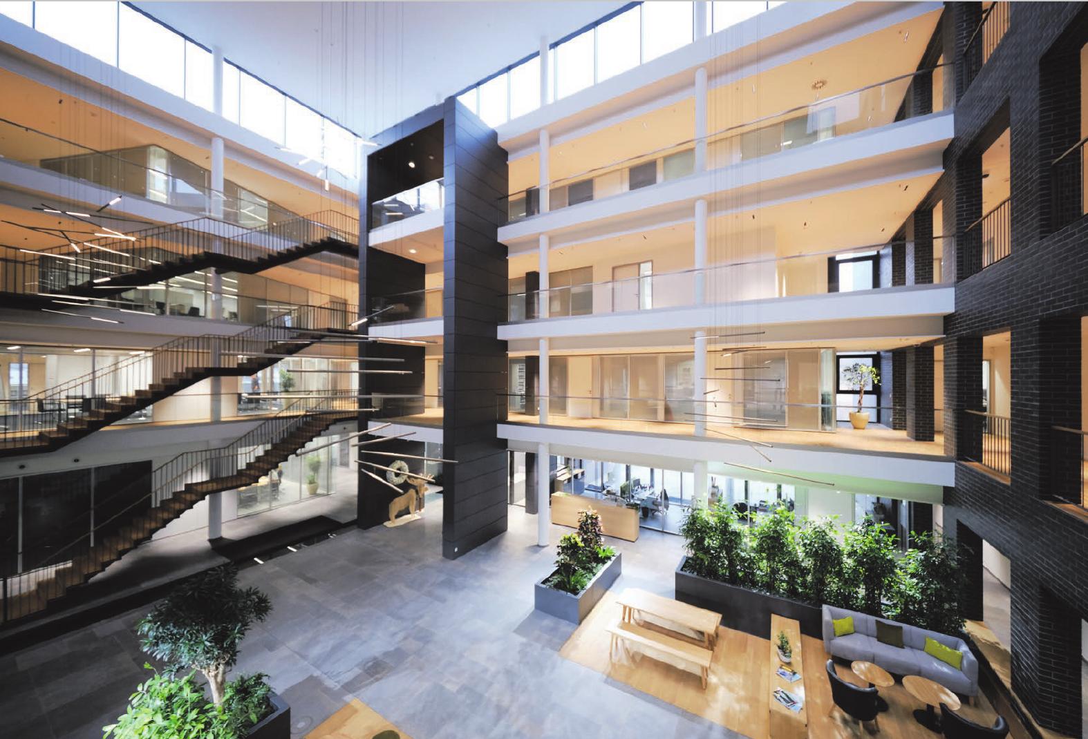 Ein modernes Gebäude für ein modernes Unternehmen: Prinzing in Eislingen. Fotos: Prinzing