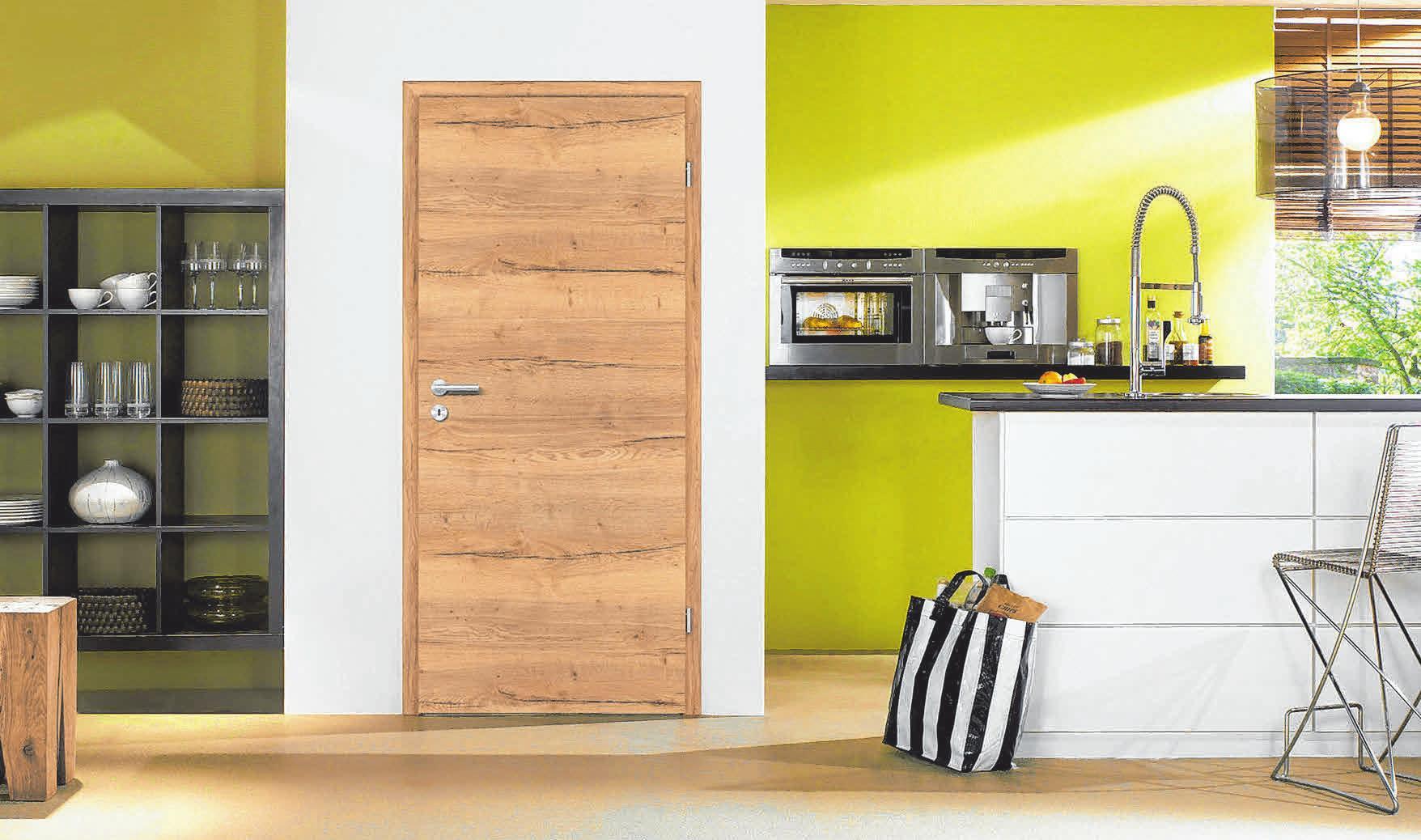 Optik und Funktion auf einen Nenner gebracht: Holz-Innentüren - wohnliches Design mit verschiedenen Zusatznutzen, vom Schall- bis zum Wärmeschutz. FOTO: DJD/GESAMTVERBAND DEUTSCHER HOLZHANDEL/PRÜM