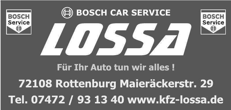 Bosch Car Service Lossa