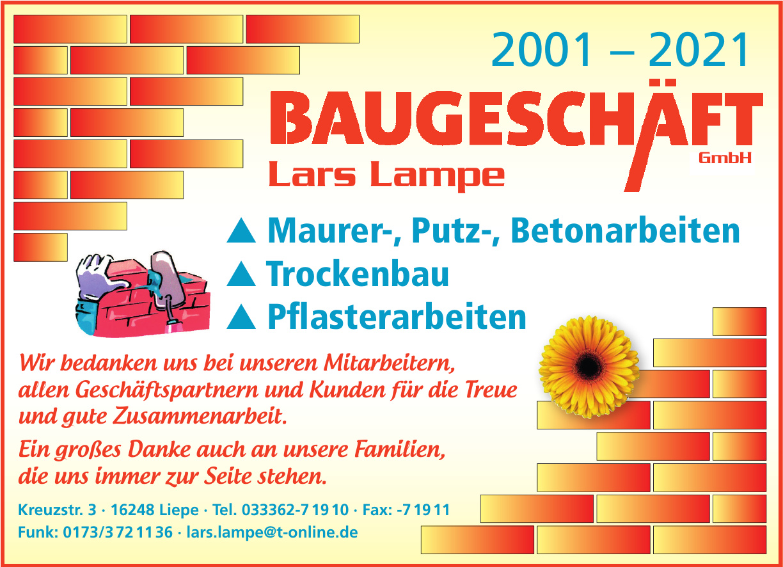 Lars Lampe - Baugeschäft GmbH