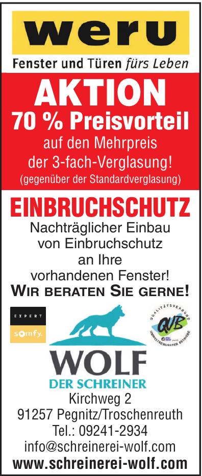 Wolf - Der Schreiner