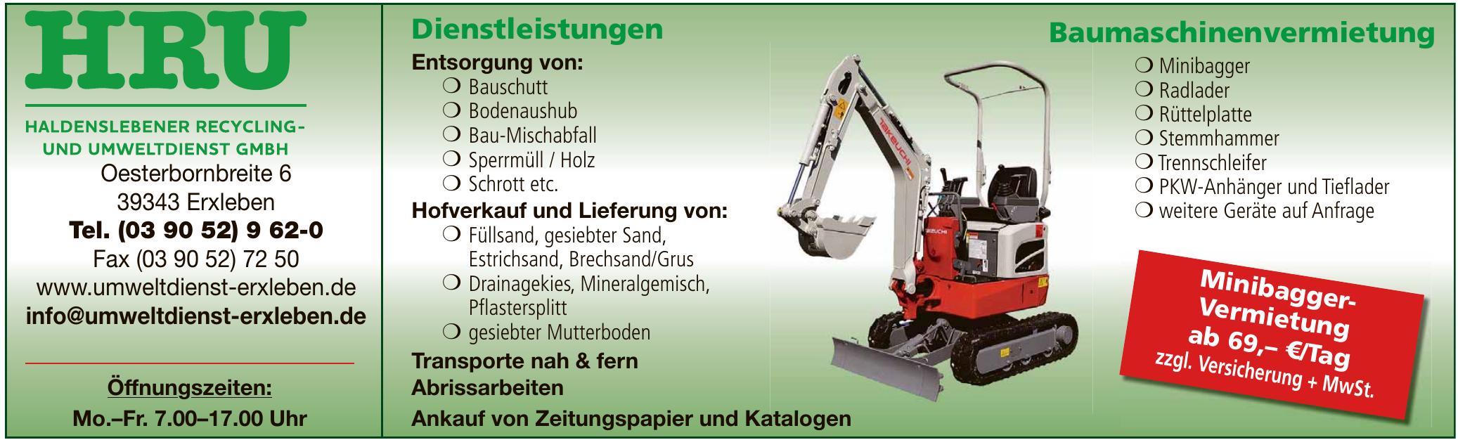 Haldenslebener Recycling und Umweltdienst GmbH