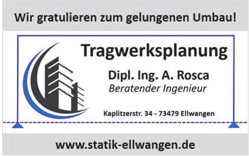 Tragwerksplanung Dipl. Ing. A. Rosca