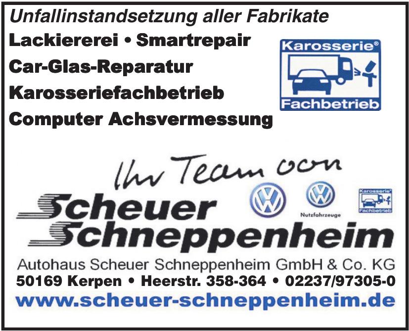 Autohaus Scheuer Schneppenheim GmbH & Co. KG