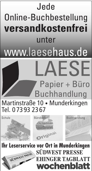 Laese Papier+Büro Buchhandlung
