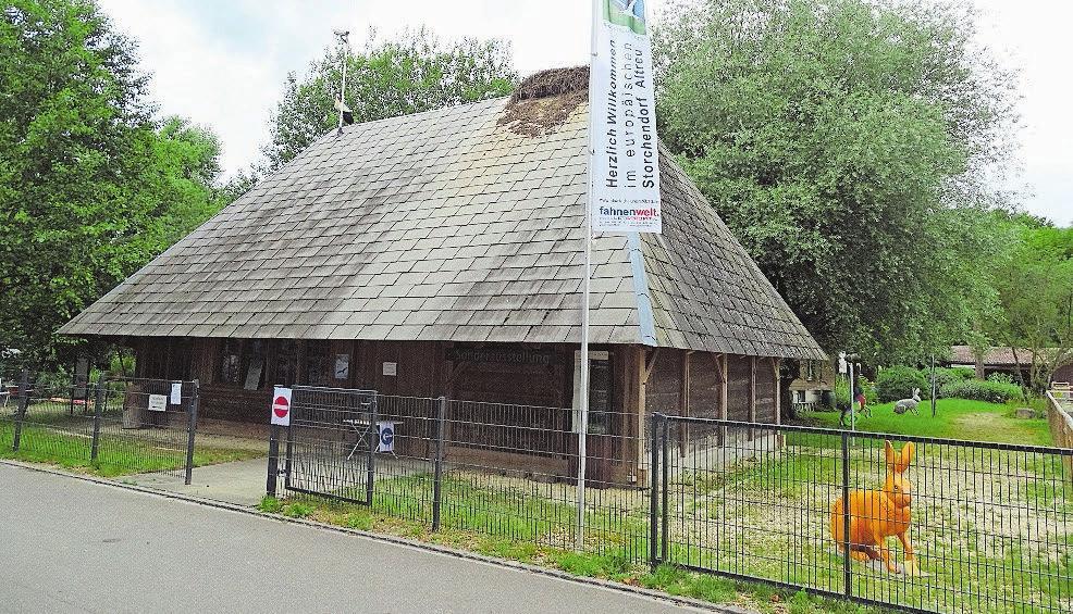 Das Informationszentrum in Altreu als idealer Ausgangspunkt. Bild: D.S.