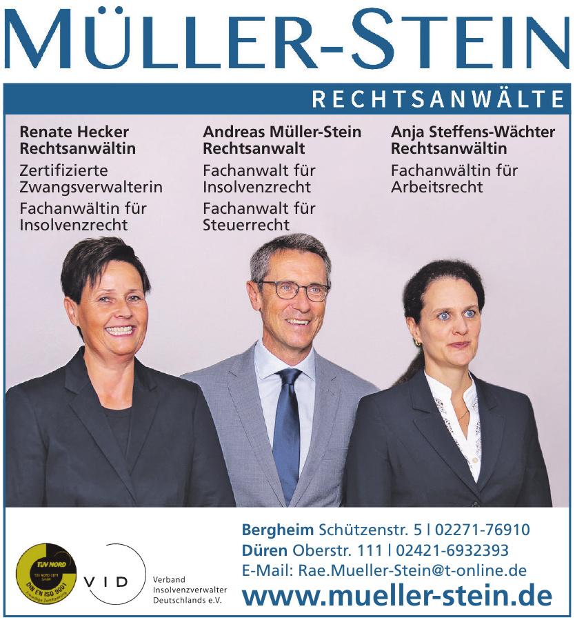 Müller-Stein Rechtsanwälte
