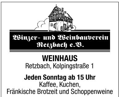 Winzer- und Weinbauverein Retzbach e. K.