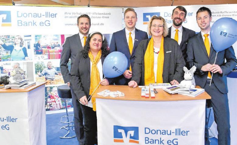 Das Immobilien & Baufinanzierer-Team der Donau-Iller Bank berät, wie man Wohnträume verwirklichen kann.