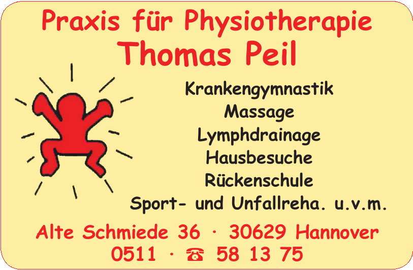 Praxis für Physiotherapie Thomas Peil