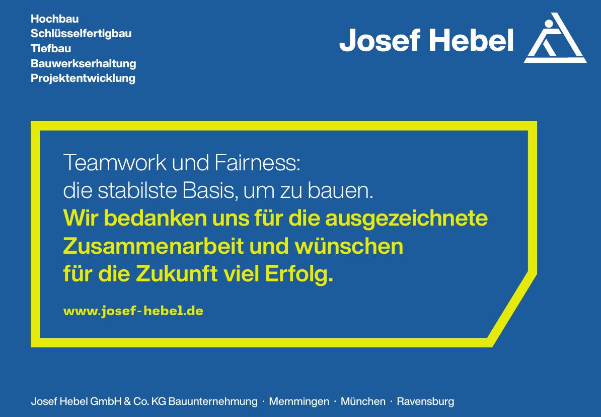 Josef Hebel GmbH & Co. KG Bauunternehmung