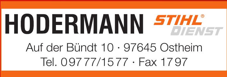 Hodermann Stihl Dienst