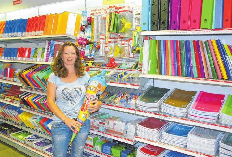 Alles zum Schulanfang führt Spiel- und Schreibwaren Spies in großer Auswahl. FOTOS: STEPHAN AUGAT