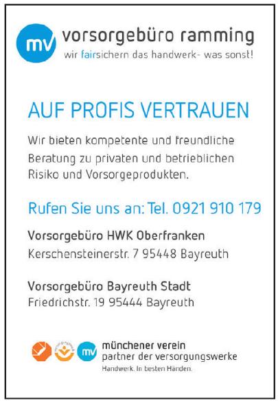 Vorsorgebüro Ramming - Vorsorgebüro Bayreuth Stadt