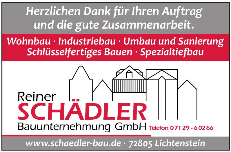 Reiner Schädler Bauunternehmung GmbH