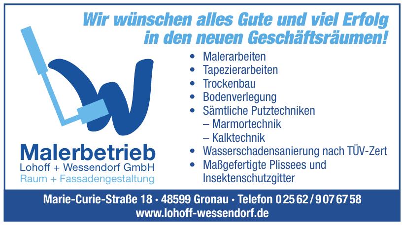 Malerbetrieb Lohoff + Wessendorf GmbH
