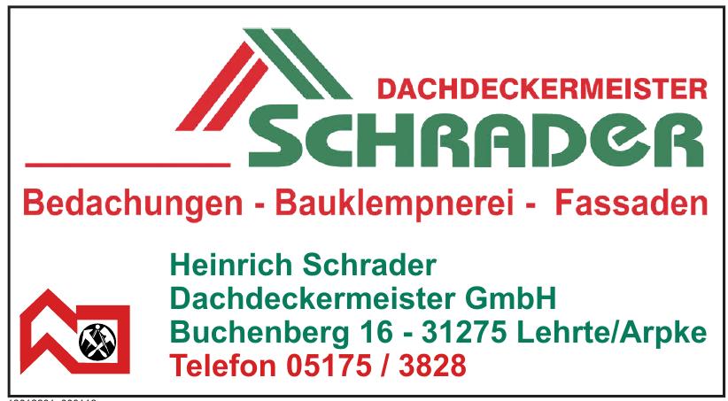 Heinrich Schrader Dachdeckermeister GmbH