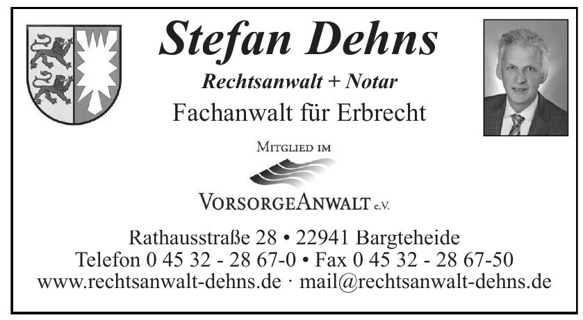 Stefan Dehns Rechtsanwalt + Notar