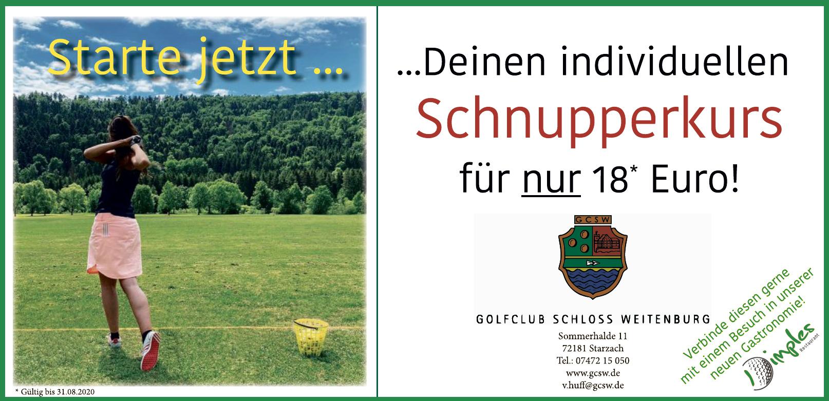 Golfclub Schloss Weitenburg