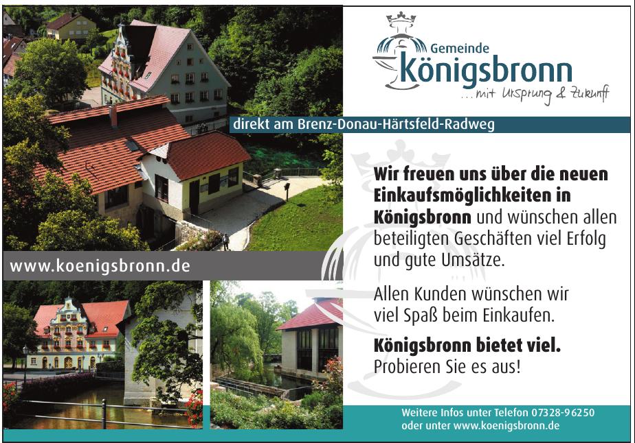 Gemeinde Königsbronn