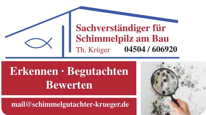 Sachverständiger für Schimmelpilz am Bau Th. Krüger