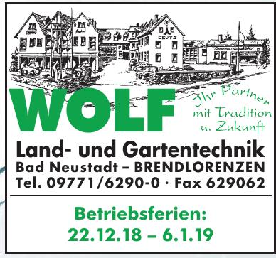 Wolf Land- und Gartentechnik