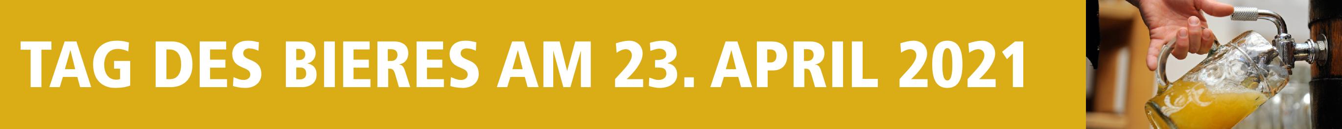 Tag des Bieres am 23. April 2021 Image 1
