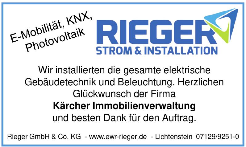 Rieger GmbH & Co. KG